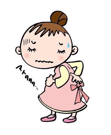 腰が痛い、産まれるまで続く!? 妊婦の腰痛、原因と対処法!!