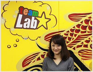 チームラボが健康に身近な会社であるために、Carelyに期待しています。